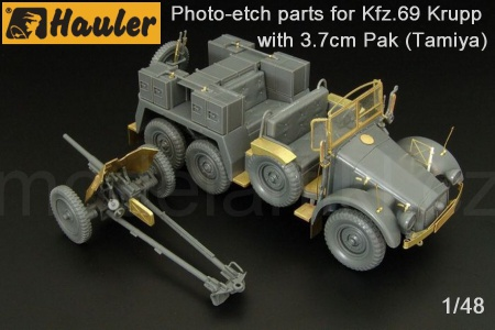 Kfz.69 Krupp with 3.7cm Pak for Tamiya 039/HLX48361
