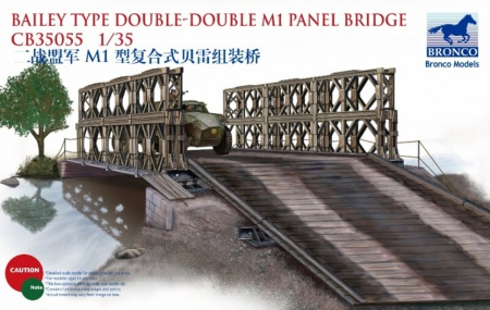 Bailey Type Double-Double M1 Panel Bridge 062/CB35055