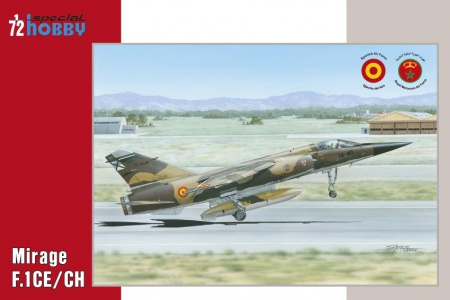 Mirage F.1CE/CH (Spanish end Maroccan Air Force) 012/SH72289