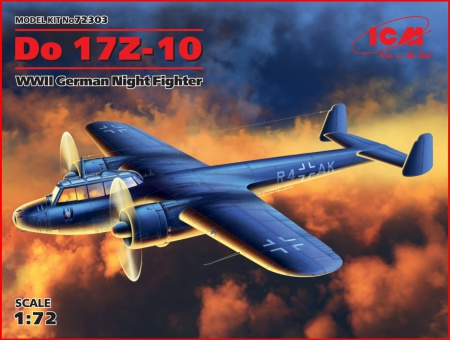 Do 17Z-10, WWII German Night Fighter 057/72303