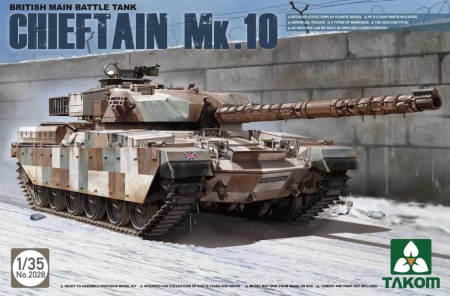 British Main Battle Tank Chieftain Mk.10 103/2028