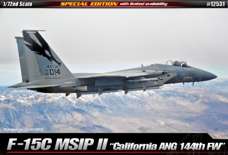 F15 MSIP II California ANG 144th FW (Limited Edition) 002/12531