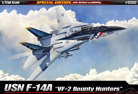 USN F-14A VF-2 Bounty Hunters (Limited Editions) 002/12532