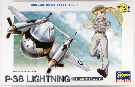 P-38 Lightning (Egg Plane) 007/TH26