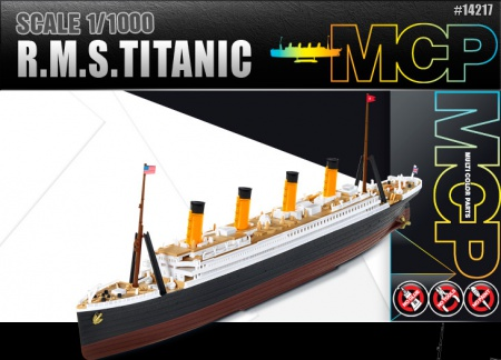 R.M.S. Titanic (Multi Color Parts) 002/14217