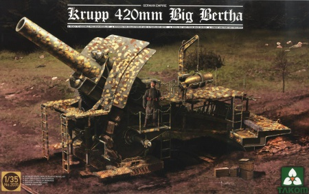 Krupp 420mm Big Bertha WWI Imperial German Arm