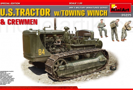 U.S. Tractor w/Towing Winch  & Crewmen 089/35225
