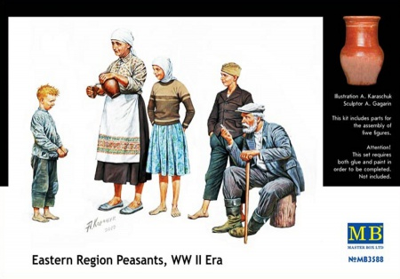 Eastern Region Peasants WWII 096/MB3588