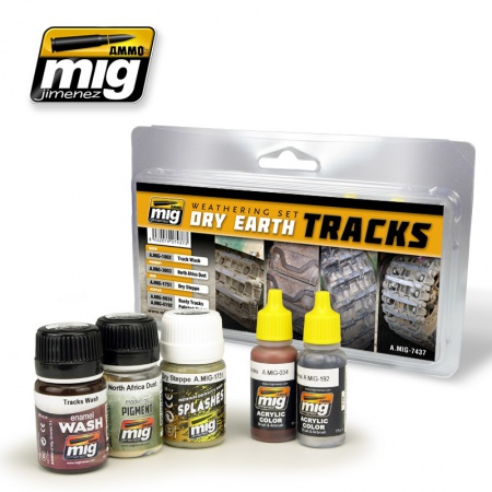 Dry Earth Tracks Set 3x35ml, 2x17ml 085/A.MIG-7437