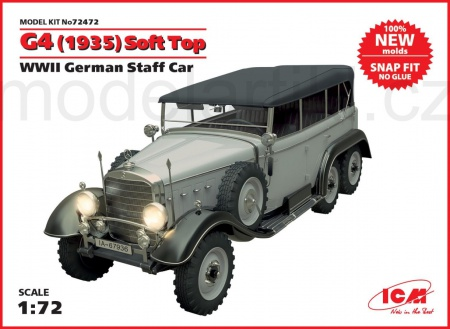 G4 (1935 production), WWII German Staff Car 057/72472