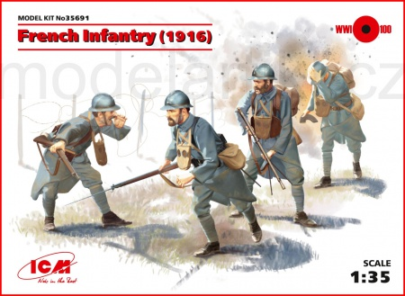 French Infantry (1916) 057/35691