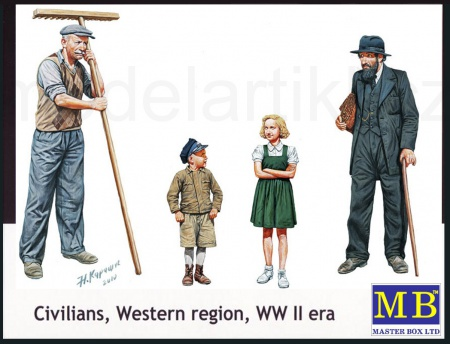 Civilians, Western region, WW II era 096/MB3567
