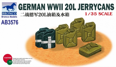 German WWII 20L Jerry Cans 062/AB3576
