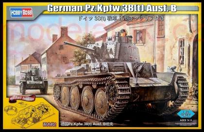 German Panzer Kpfw.38(t) Ausf.B (with Interior)
