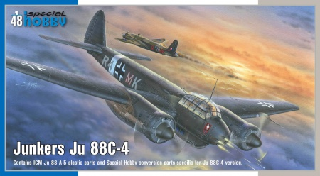Junkers Ju 88C-4 (Limited Edition) 012/SH48177