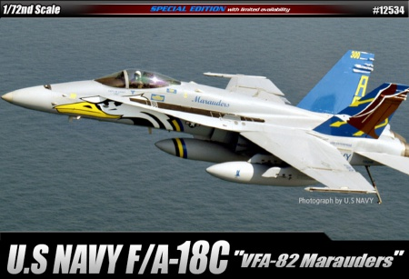F/A-18C U.S NAVY VFA-82 (Limited Editions) 002/12534