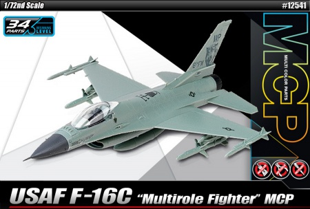 USAF F-16C Multirole Fighter (Multi Color Parts) 002/12541