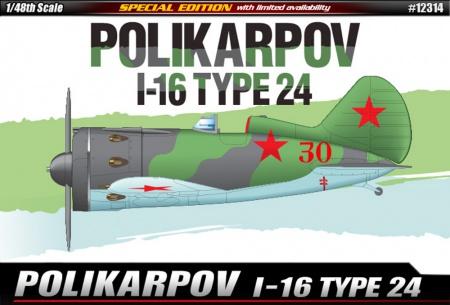 Polikarpov I-16 Type 24 (Limited Editions)