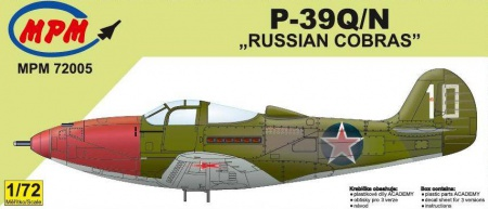 P-39Q/N Russian Cobras (Limited Edition) 090/MPM72005