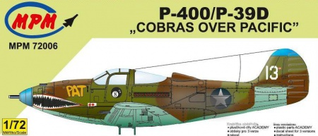 P-400/P-39D Cobras over Pacific (Limited Edition) 090/MPM72006