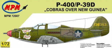 P-400/P-39D Cobras over New Guinea (Limited Edition) 090/MPM72007