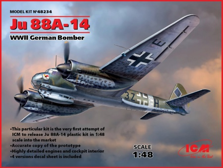 Ju 88A-14, WWII German Bomber 057/48234