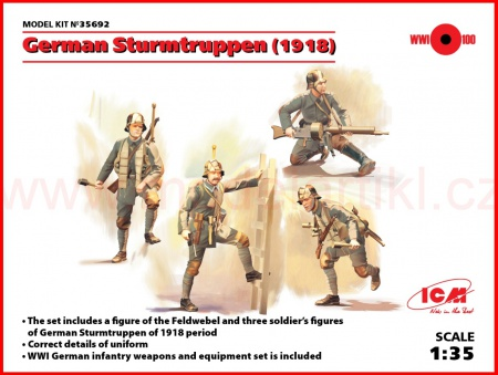 German Sturmtruppen (1918) 057/35692