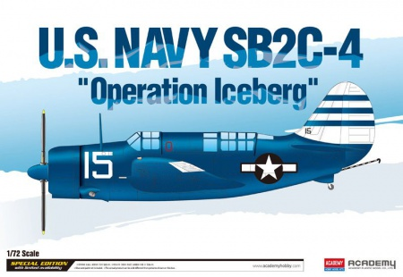 U.S. NAVY SB2C-4 Helldiver Operation Iceberg (Limited Editions) 002/12545