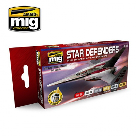 Star Defenders SCI-FI Colors 6x17ml 085/A.MIG-7130