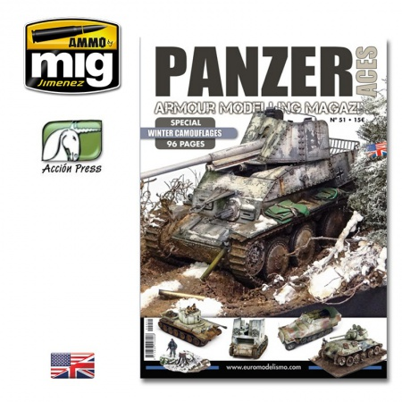 Panzer Aces Nº51 Special Winter Camouflages 085/PANZ-0051