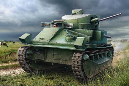 Vickers Medium Tank MK II 008/83880