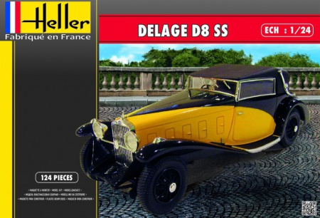 Delage D8 SS 094/80720