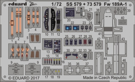 Fw 189A-1 S.A. ZOOM (1:72 ICM) 003/SS579