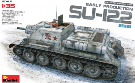 SU-122 Early Production 089/35181