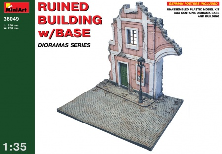 Ruined Building w/Base 089/36049