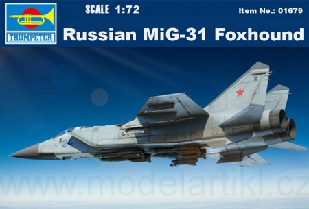 Russian MiG-31 Foxhound 005/01679