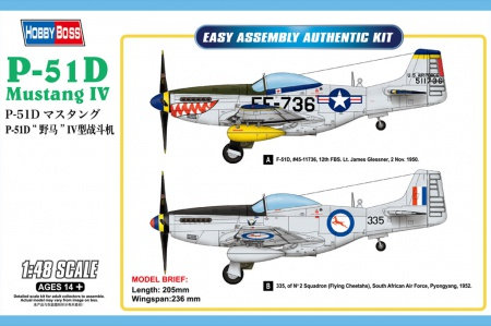 P-51D Mustang IV Fighter 008/85806