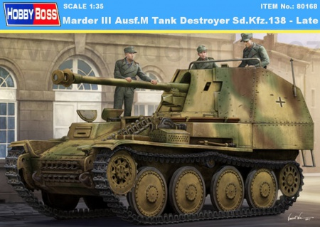 Marder III Ausf.M Tank Destroyer Sd.Kfz.138 - Late