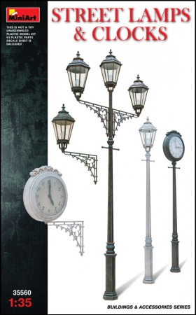 Street  Lamps  &  Clocks 089/35560