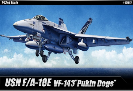 USN F/A-18E VF-143 Pukin Dogs 002/12547