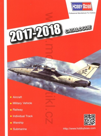 Hobby Boss Catalogue 2017-2018 008/KAT2017-18