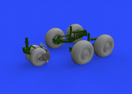 Su-34 wheels  (1:48 Hobby Boss) 003/648326