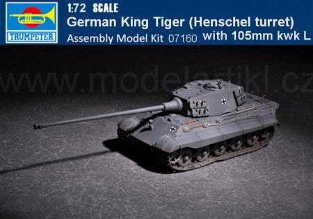 German King Tiger (Henschel turret) with 105mm kwk L