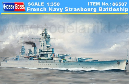 French Navy Strasbourg Battleship 008/86507