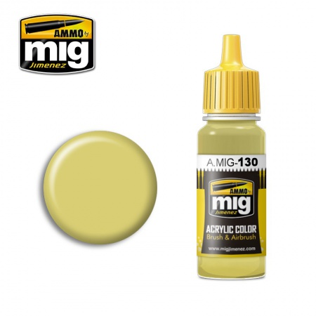 Faded Yellow 17ml 085/A.MIG-130