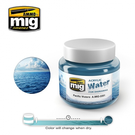Pacific Waters 250ml 085/A.MIG-2201
