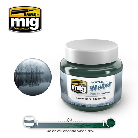 Lake Waters 250ml 085/A.MIG-2202