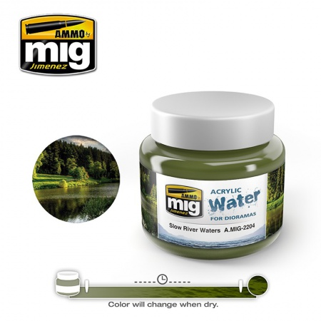 Slow River Waters 250ml 085/A.MIG-2204