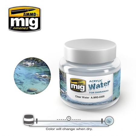 Clear River Waters 250ml 085/A.MIG-2205