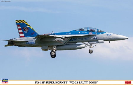 F/A-18F Super Hornet VX-23 Salty Dogs (Limited Edition) 007/07450